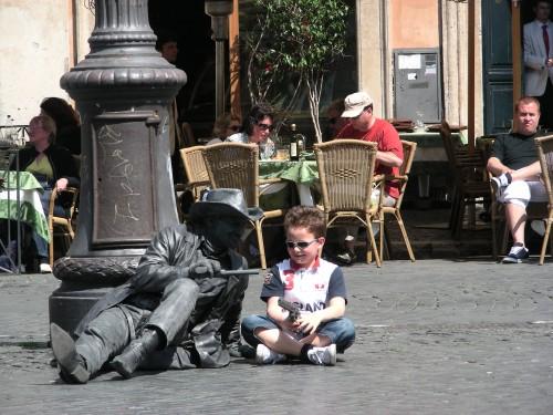 イタリア ローマ ナボナ広場