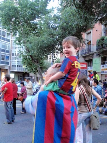バルセロナ バルサ 優勝