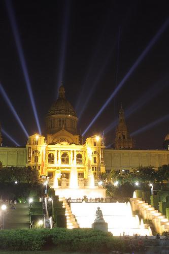 なつかしの場所•バルセロナ プラザエスパーニャ