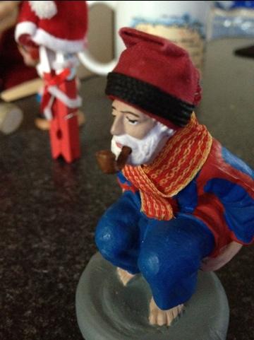 大晦日のクリスマスプレゼントが、カタルーニャの○○○人形