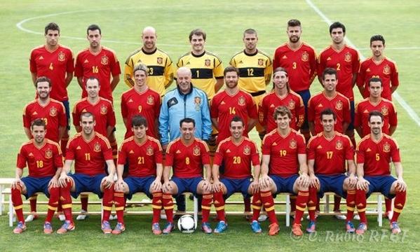 スペインのナショナルチーム!!