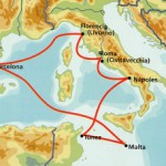 地中海クルーズで通る、メッシーナ海峡とは?