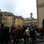 地中海クルーズ旅行記2日目④~イタリア フィレンツェの世界遺産・ベッキオ橋