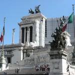 地中海クルーズ旅行記3日目⑦~ローマ ヴィットーリオ・エマヌエーレ2世記念堂