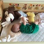 生後4ヶ月、夜寝る前泣き
