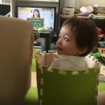 2歳児 目の上を強くぶつける…クリクリ瞳がかわいそうなことに。