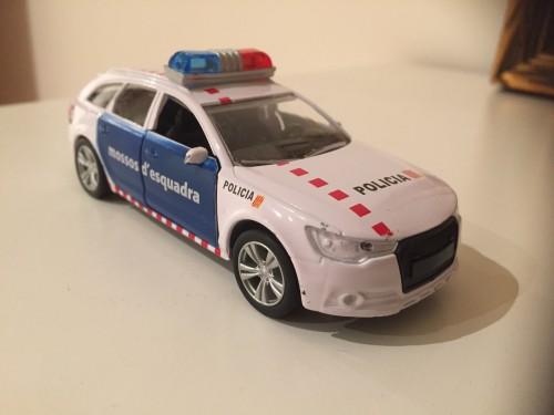 Spain police car