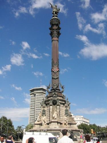 コロンの塔 バルセロナ
