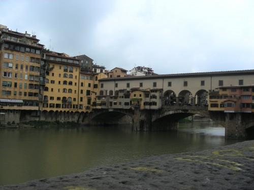 イタリア フィレンツェ ヴェッキオ橋