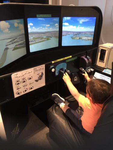 羽田空港 フライトシミュレーター